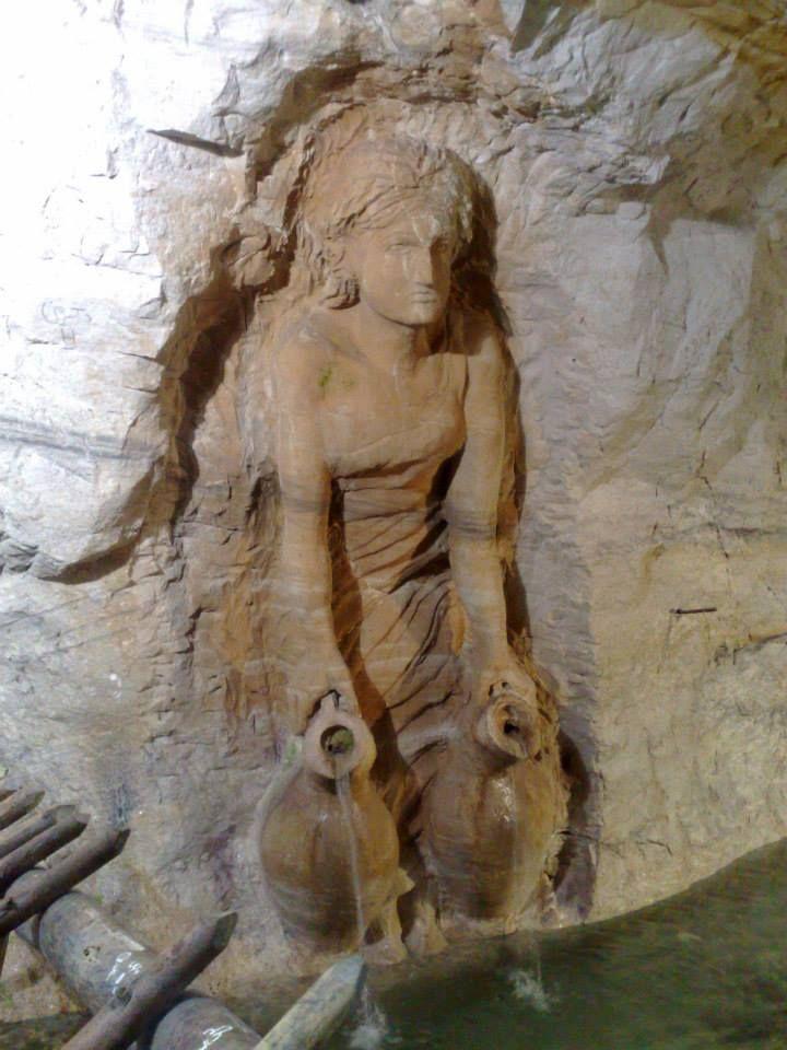 Bludan Damascus Syria cave